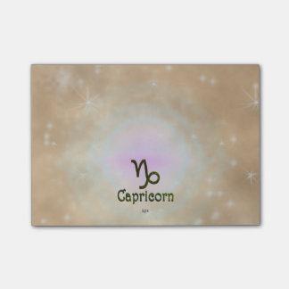 U Pick Color/ Capricorn Zodiac Sign Post-it® Notes