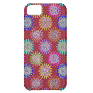 U pick Color/ Hand Blown Glass Crystal Flowers iPhone 5C Case