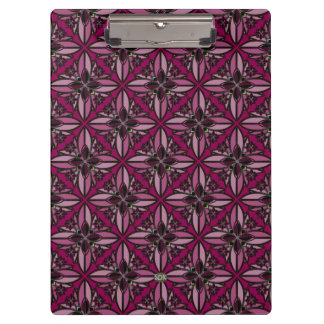 U-pick Color/ Iron Celtic Good Fortune Flower II Clipboards
