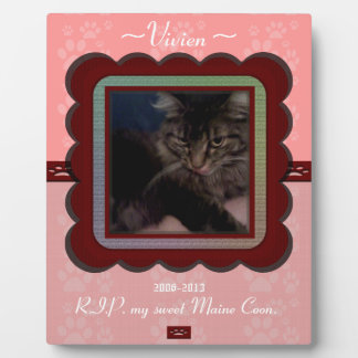 U Pick Color/Personalized Pet Memorial Plaque
