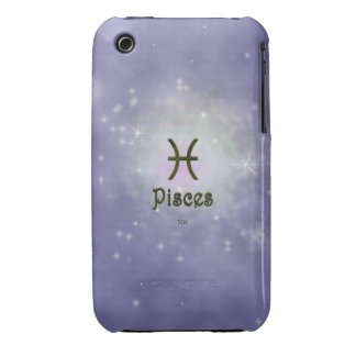 U Pick Color/ Pisces Zodiac Sign iPhone 3 Cover