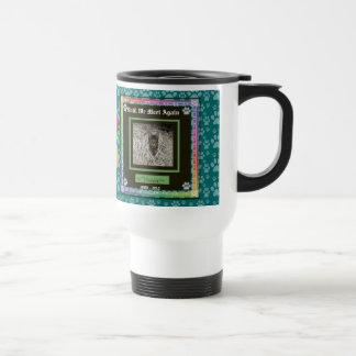 U Pick Color/Rainbow Personalized Pet Memorial Travel Mug