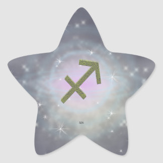 U Pick Color/ Sagittarius Zodiac Sign Star Sticker