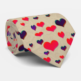U Pick Color/ Valentine's Day  Fluttering Hearts Tie