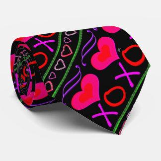 U Pick Color/ Valentine's Day Hugs and Kisses Tie
