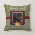 U Pick Colour/Personalised Pet Memorial Cushion