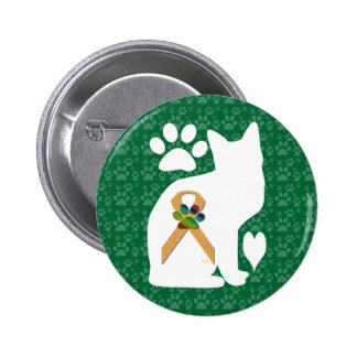 U-pick the Color/Animal Cruelty Prevention Ribbon 6 Cm Round Badge