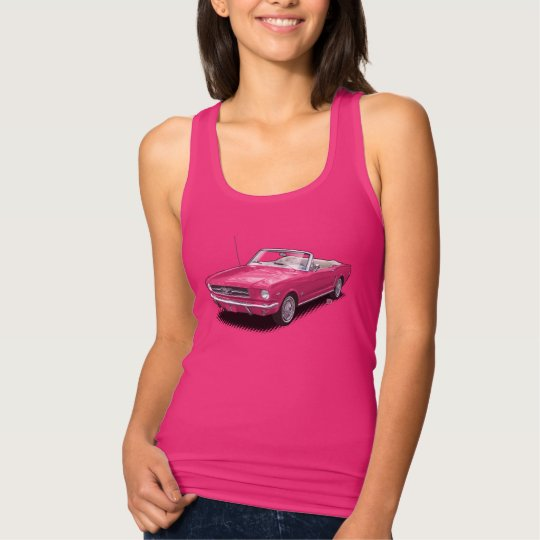 U-Pick-The-Colour Pony Car Convertible T-Shirt