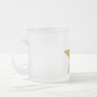 u put on pants yay frosted glass coffee mug