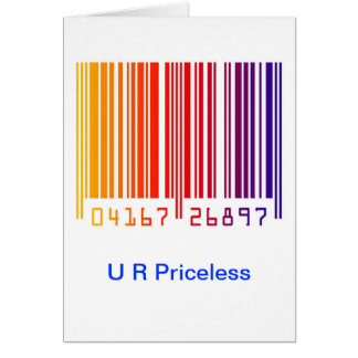 U R Priceless Card