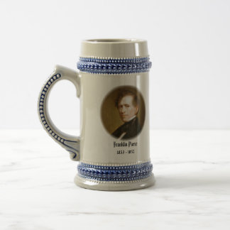 U.S.A. 14th President (Collectable Mug) Beer Stein
