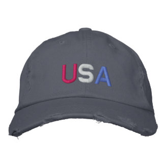 U.S.A. BASEBALL CAP - Customized - Customized