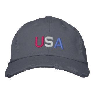 U.S.A. BASEBALL CAP - Customized - Customized