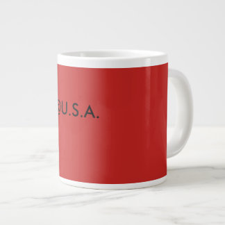 @U.S.A. coffe large coffe mug