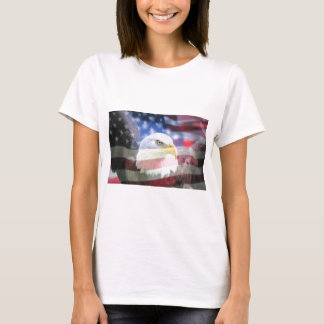 U.S.A. Eagle & Flag T-Shirt