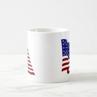 U.S.A. Flag Mug