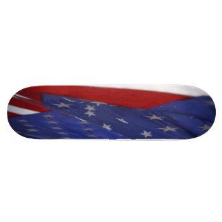 U.S.A. FLAG CUSTOM SKATE BOARD