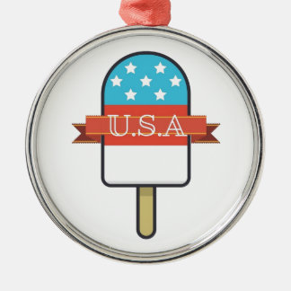 U.S.A. Ice Lolly Christmas Ornament