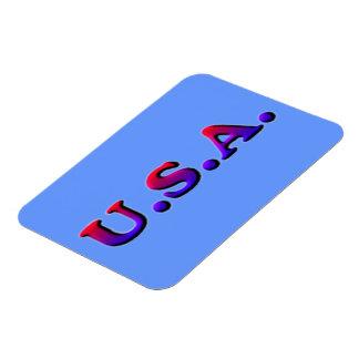 U.S.A. Premium Flexi Magnet