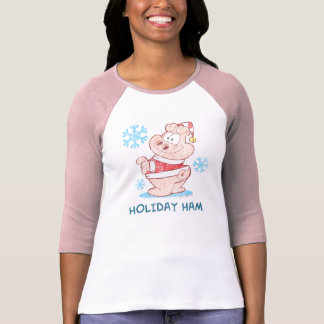 U.S.Acres Holiday Ham Adult T-shirt
