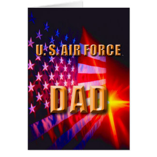 U.S. Air Force Dad Cards