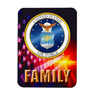 U.S. Air Force Flexible Photo Magnet