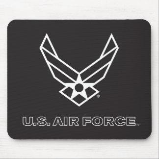 U.S. Air Force Logo - Black Mouse Pad