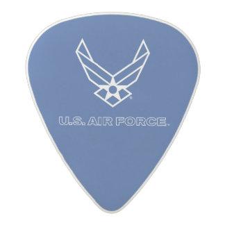 U.S. Air Force Logo - Blue Acetal Guitar Pick