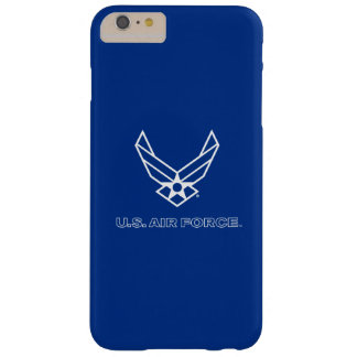 U.S. Air Force Logo - Blue Barely There iPhone 6 Plus Case