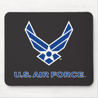 U.S. Air Force Logo - Blue Mouse Mat