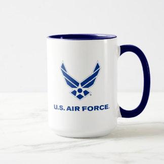 U.S. Air Force Logo - Blue Mug