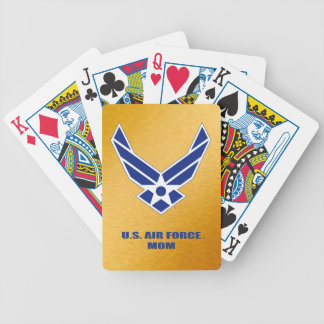 U.S. Air Force Mom Bicycle Playing Cards