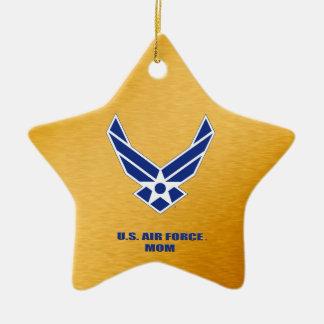 U.S. Air Force Mom Ceramic Ornament