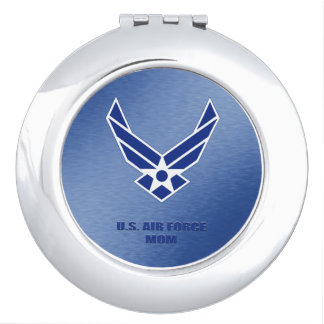 U.S. Air Force Mom compact mirror