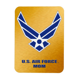 U.S. Air Force Mom Flexible Photo Magnet