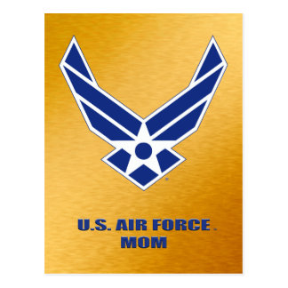 U.S. Air Force Mom Postcard