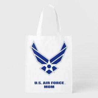 U.S. Air Force Mom Reusable Grocery Bag