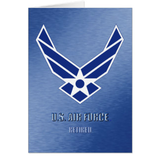 U.S. Air Force Retired Card
