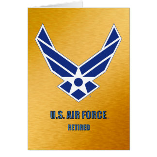 U.S. Air Force Retired Cards