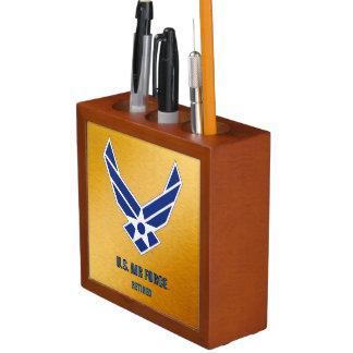 U.S. Air Force Retired Desk Organizer