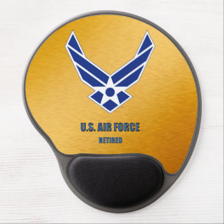 U.S. Air Force Retired Gel Mousepad Gel Mouse Mat