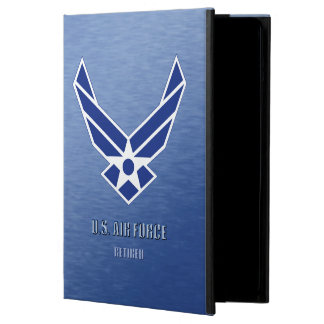 U.S. Air Force Retired iPad Air Case No Kickstand