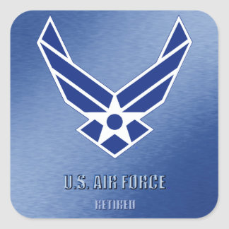 U.S. Air Force Retired sticker