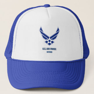 U.S. Air Force Retired Trucker Hat