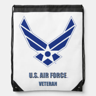 U.S. Air Force Vet Drawstring Backpack