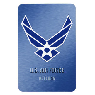 U.S. Air Force Vet Flexible Photo Magnet