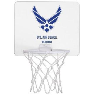 U.S. Air Force Vet Mini Basketball Hoop