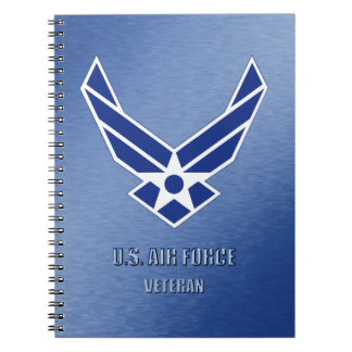 U.S. Air Force Vet Spiral Photo Notebook