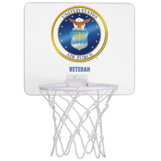 U.S. Air Force Veteran Basketball Hoop