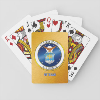 U.S. Air Force Veteran Classic Playing Cards